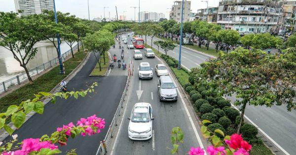 Hơn 55 tỷ đồng nâng cấp đại lộ Võ Văn Kiệt ở TP HCM