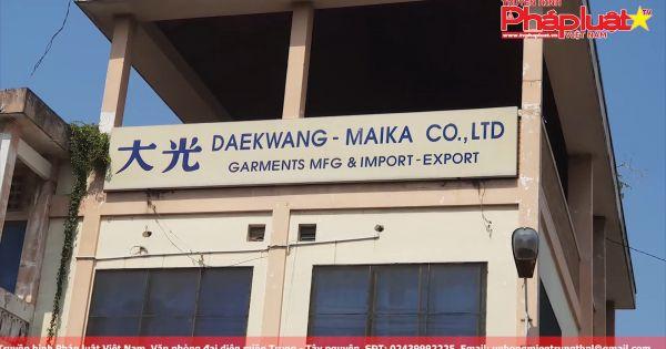 TP. Hồ Chí Minh: Công ty TNHH Đại Quang – Maika hoạt động với nhiều sai phạm