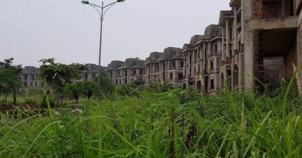 """Hà Nội thu hồi hơn 900 ha đất dự án """"treo"""""""