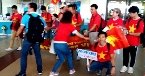 Đội tuyển Việt Nam gặp Philippines tại sân Panaad
