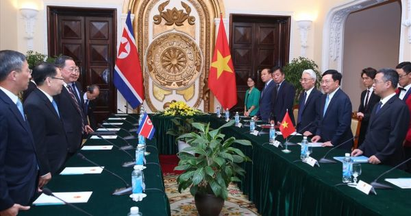 Truyền thông Triều Tiên đưa tin về chuyến thăm Việt Nam của Ngoại trưởng Ri Yong Ho