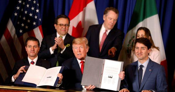 Tổng thống Mỹ sẽ thúc đẩy thông qua 'NAFTA phiên bản mới'
