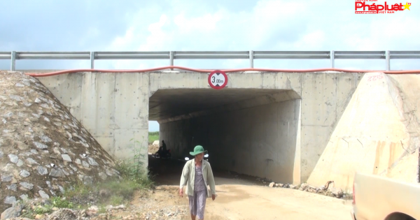 Chủ đầu tư dự án cao tốc Đà Nẵng -Quảng Ngãi bao giờ hoàn trả đường cho dân?