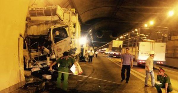 Tai nạn liên tục xảy ra tại Hầm Hải Vân