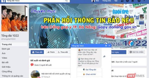 Đà Nẵng cung cấp dịch vụ công qua Messenger