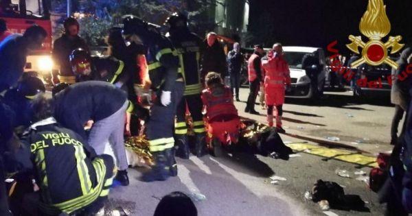Italy: Giẫm đạp tại hộp đêm, 6 người thiệt mạng