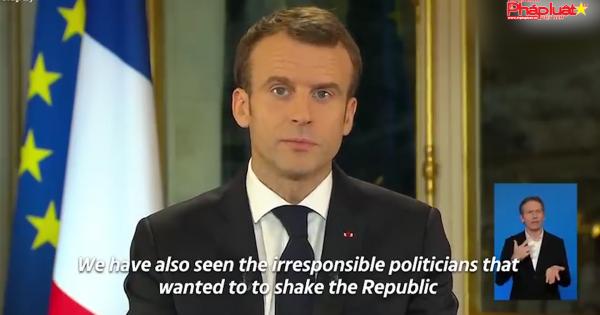 Tổng thống Pháp nhượng bộ nhằm xoa dịu người dân