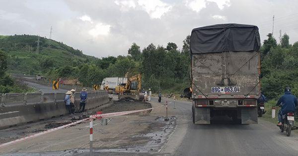 QL1 thủng lỗ chỗ sau mưa: Bộ trưởng GTVT yêu cầu thay nhà thầu