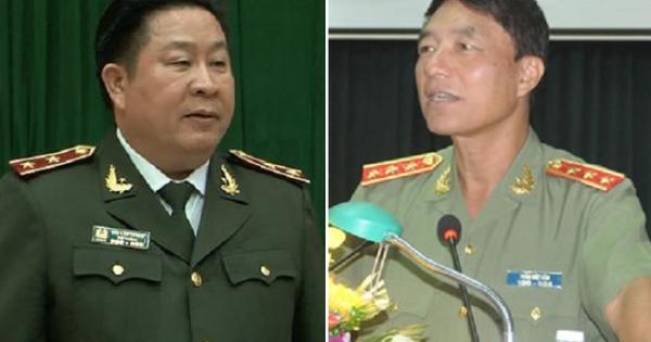 Khởi tố 2 cựu thứ trưởng công an Bùi Văn Thành, Trần Việt Tân
