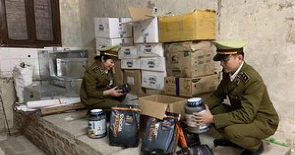 Nghệ An: Thu giữ hàng tấn mỹ phẩm không rõ nguồn gốc