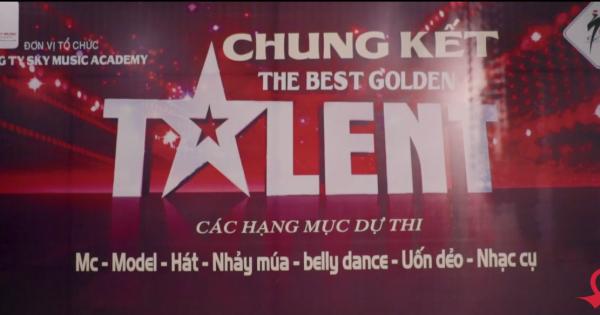Chung khảo cuộc thi The Best Golden Talent năm 2018