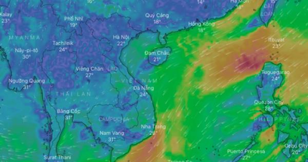 Website ứng dụng thời tiết sửa sai chú thích quần đảo Hoàng Sa