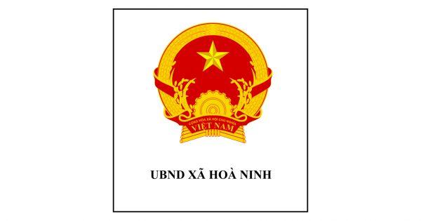 UBND Xã Hòa Ninh chúc mừng năm mới
