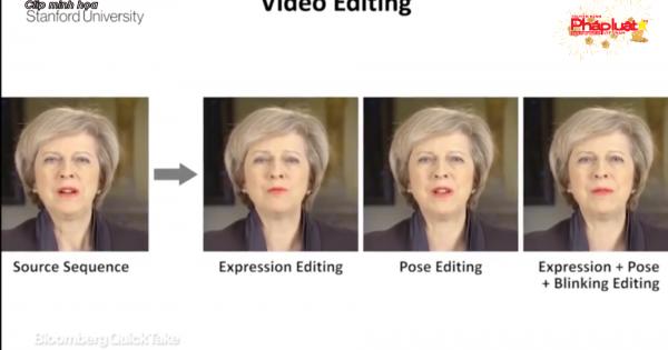 Video giả mạo từ ảnh Facebook - mặt trái của AI