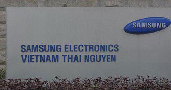 Thái Nguyên xin miễn tiền bồi thường, giải phóng mặt bằng 171,3 ha đất cho Samsung
