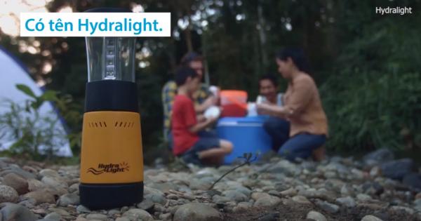 Đèn bình phát sáng 250 giờ bằng nước muối