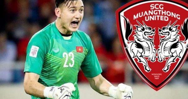 Thủ môn Đặng Văn Lâm chính thức gia nhập đội bóng Thái Lan