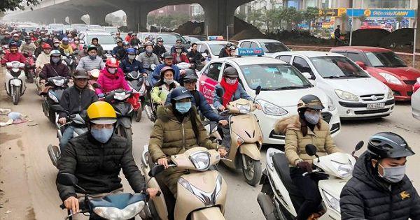 Đề xuất cấm xe máy từ vành đai 3 ở Thủ đô Hà Nội
