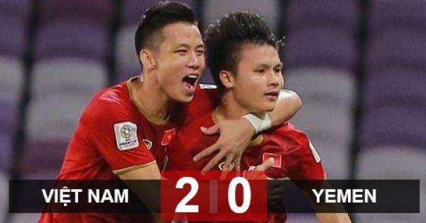 Việt Nam 2-0 Yemen: Vẫn phải chờ đợi
