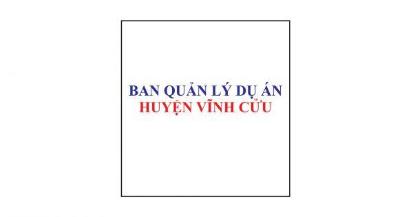 Ban quản lý dự án Huyện Vĩnh Cửu Chúc mừng năm mới