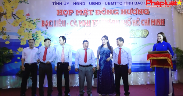 Họp mặt đồng hương Bạc Liêu – Cà Mau tại thành phố Hồ Chí Minh.