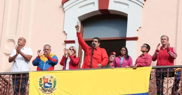 """Venezuela quyết không công nhận """"Tổng thống lâm thời"""""""