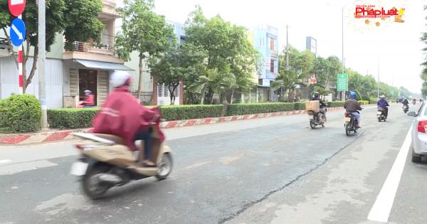 Bức xúc sửa đường giao thông phục vụ Tết ở TP Quảng Ngãi