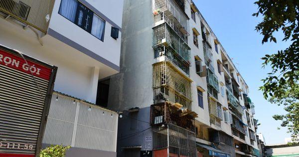 Kiểm định lại chung cư nghiêng ở quận 1 để quy trách nhiệm chủ đầu tư
