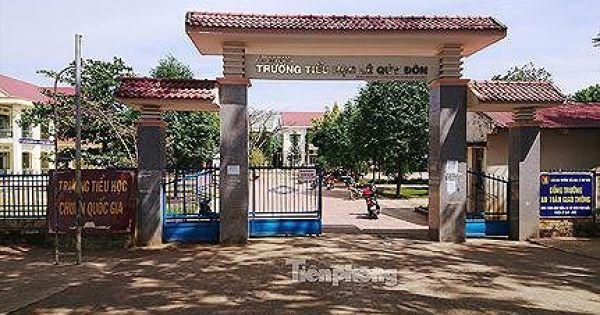 """Vụ huy động tiền cứu đói ở Đắk Lắk: Trường trả lại tiền """"tài trợ"""""""