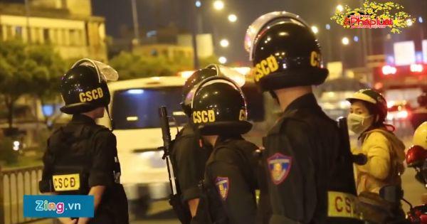 Lực lượng 363 bắt 90 người phạm pháp ở Sài Gòn trước Tết