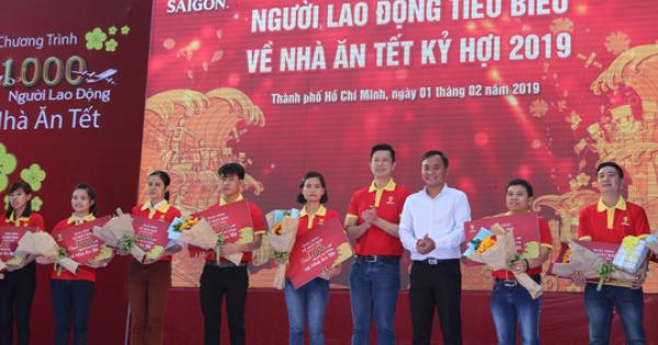 TP HCM: Hỗ trợ vé máy bay cho 1000 công nhân về quê ăn Tết