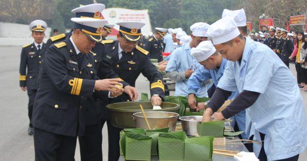 Tết về với những người lính Hải quân