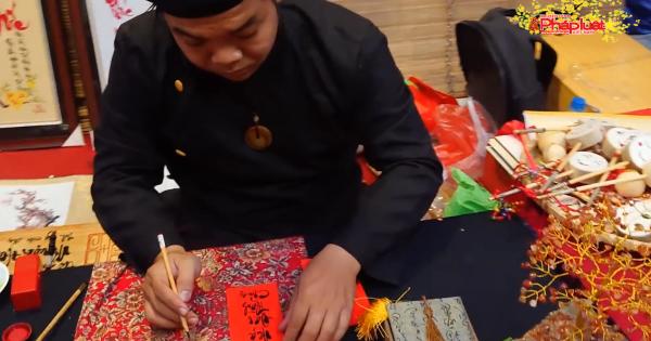Phong tục xin chữ đầu năm, một nét đẹp lâu đời của người Việt