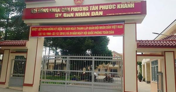 Đề nghị chuyển công tác chủ tịch phường từ chối cấp giấy chứng tử cho dân ở Bình Dương