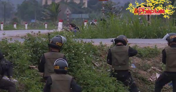Bốn giờ vây bắt tội phạm ma túy có vũ khí nóng tại Hà Tĩnh