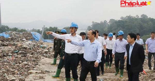 Hà Nội: Sớm xây dựng nhà máy xử lý nước rỉ rác Xuân Sơn