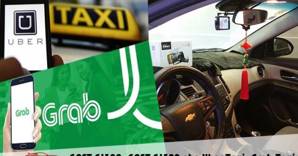 """Grab đề nghị gắn đèn led phân biệt """"taxi công nghệ"""" và """"taxi truyền thống"""""""