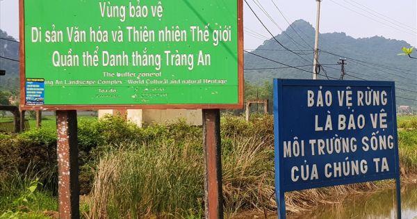 """Ninh Bình: Công ty Doanh Sinh lập barie, """"chiếm đường"""" làm nơi bán vé tham quan"""