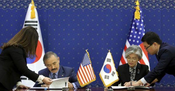 Hàn Quốc đồng ý tăng chia sẻ chi phí quân sự với lực lượng đồn trú Mỹ