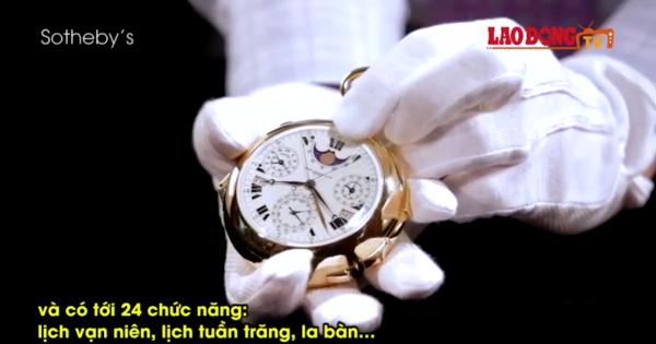 Đồng hồ 24 triệu USD hiện bản đồ sao trên bầu trời New York