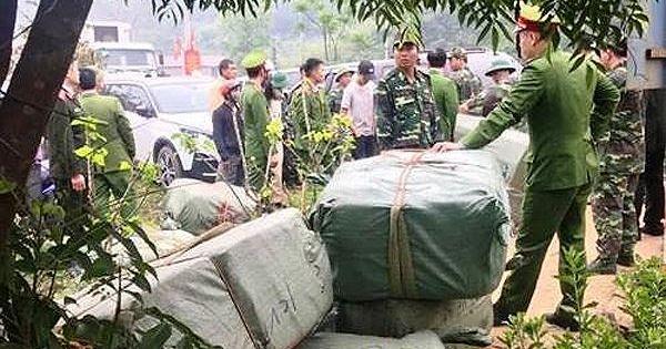 130 cán bộ, chiến sỹ tham gia bắt giữ hàng lậu