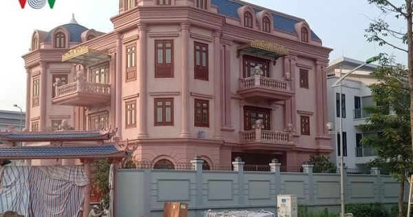 """Biệt thự """"khủng"""" phá vỡ quy hoạch khu đô thị mới của Hà Nội"""