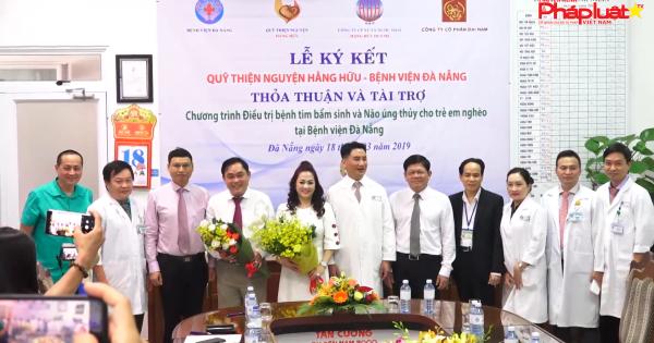 Chương trình Tài trợ mổ tim bẩm sinh và não úng thuỷ miễn phí cho trẻ em tiếp tục được thực hiện tại Bệnh viện Đà Nẵng