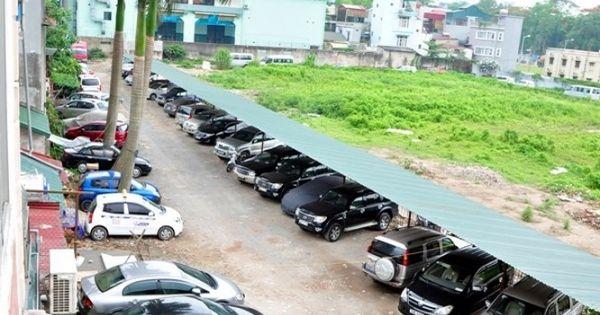 Hà Nội: Chết yểu nhiều dự án bãi đỗ xe ngầm