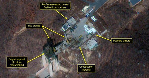 Mỹ nhận định về hiện trạng bãi thử hạt nhân Sohae của Triều Tiên