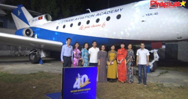 Học viện Hàng Không Việt Nam kỷ niệm 40 năm ngày truyền thống