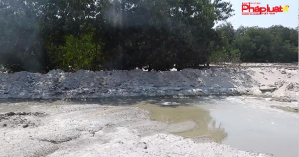 Trạm trộn bê tông Hòa Cầm gây ô nhiễm môi trường