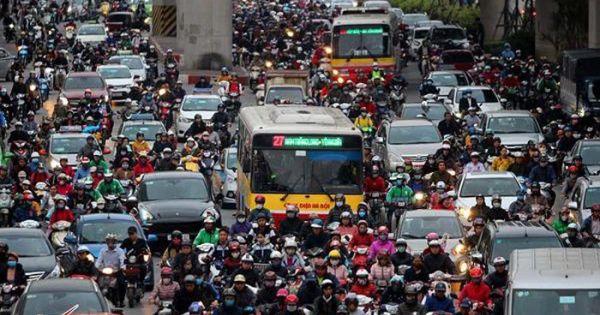 Bộ Giao thông Vận tải ủng hộ đề án cấm xe máy tại Hà Nội, TP HCM