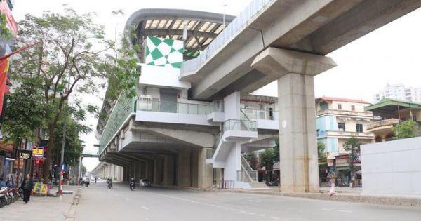 Công trình đường sắt Cát Linh - Hà Đông bị phá hoại