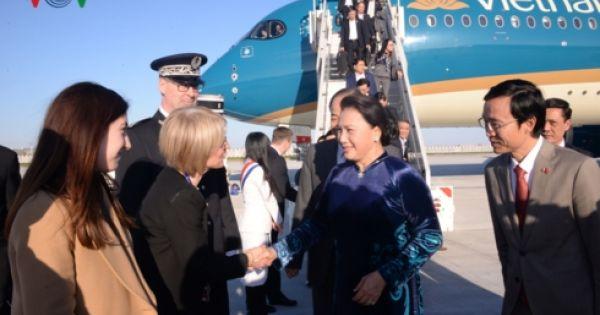 Chủ tịch Quốc hội Nguyễn Thị Kim Ngân thăm chính thức Cộng hòa Pháp